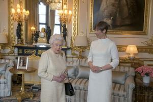 Elizabeth II ja president Kersti Kaljulaid