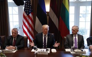 President Kersti Kaljulaid kohtus USA presidendi Donald Trumpiga.
