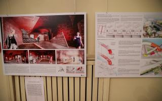 The museum's winning design entry,