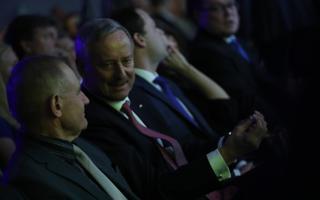 Ants Laaneots ja Siim Kallas Reformierakonna üldkogul