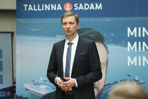 Tallinna Sadam tutvustas börsileminekut.