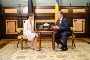President Kersti Kaljulaid visiidil Ukrainasse.