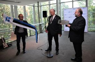 Members of Toronto' Estonian community, who met with Prime Minister Jüri Ratas last May.