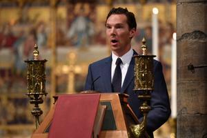 Näitleja Benedict Cumbercatch