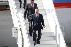 Putin saabumas Helsingisse