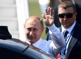 Putin saabumas Helsingisse.
