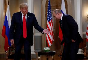 Trump ja Putin Helsingis.