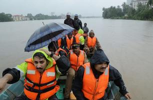 Mussoonvihmad Indias Kerala osariigis on nõudnud üle 80 inimelu.