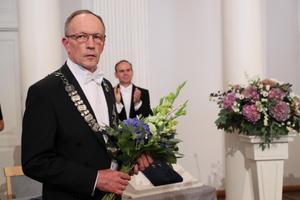Inaugureeritud rektor Toomas Asser.
