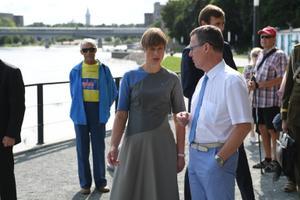 President Kersti Kaljulaid Narvas