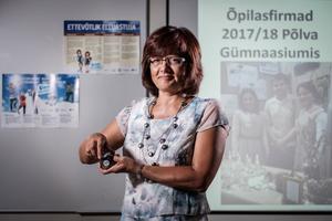 Kaia Tamm Põlva Gümnaasiumist on aasta gümnaasiumiõpetaja nominent.