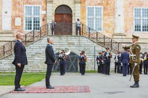 Посол Швеции Микаэл Эрикссон.