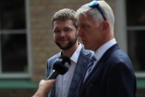 Jevgeni Ossinovski ja Indrek Tarand