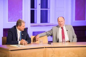 Vabaerakonna esimees Andres Herkel ja EKRE esimees Mart Helme.