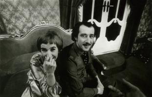 Roman Baskin ja Anne Paluver teatrilavastuses