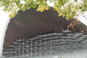 Ремонт Певческой арки.