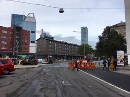 Gonsiori tänava asfalteerimistööd.
