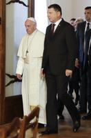 Rooma paavst Franciscus ja Läti president Raimonds Vejonis