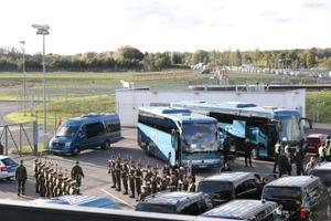 Tallinna lennujaam paavsti ootel