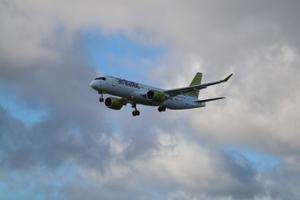 Paavsti saabumine Tallinna lennuväljale