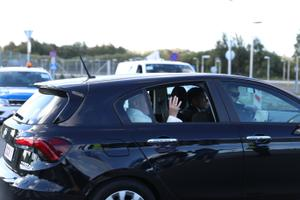 Paavst Franciscus Tallinna lennujaamas