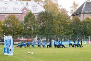 Jalgpallikoondise trenn