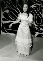 Laulja Helgi Sallo, saade Horoskoop. 1968