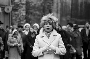 Laulja Marje Aare. 1970