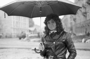 Laulja Anne Velli. 1970