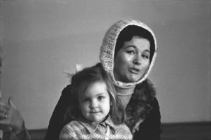 Laulja Tiiu Varik, laps. 1970