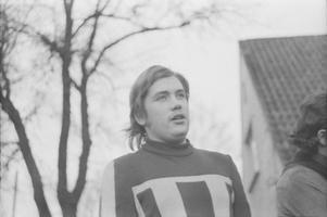 Laulja Tõnis Mägi. 1970
