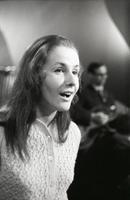 Laulja Helgi Sallo. 1969