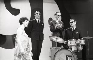 Heidy Tamme, Tiit Varts, Kalju Terasmaa, Eino Tandre, I hooaja lõpusaade. 1969