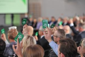 Keskerakonna kongress Pärnus 2019. aastal.