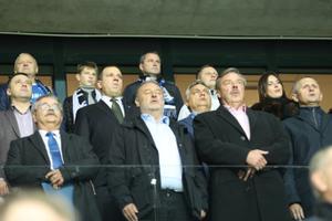 Viktor Orban Eesti ja Ungari vahelisel Rahvuste liiga mängul