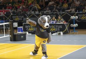 Estonia wins the bronze in sitting volleyball at the 2018 Invictus Games in Sydney, Australia. 23 October 2018.