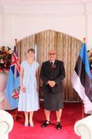 President Kersti Kaljulaid ja Fidži riigipea Jioji Konousi Konrote
