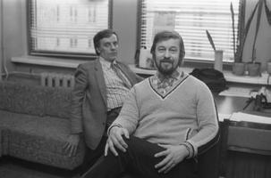 Muusikasaadete peatoimetuse režii osakonna režissöör Jüri Tallinn ja toimetaja Tiit Lauk. 1987
