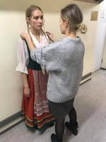 Portaali Menu toimetaja Rutt Ernits-Sups Estonias.