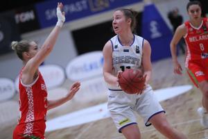 Naiste korvpalli EM-valikmäng: Eesti - Valgevene