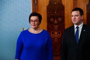 Президент Эстонии Керсти Кальюлайд утвердила Катри Райк в должности министра внутренних дел.