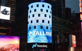 Tallink Helsingi börsil.
