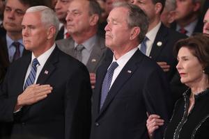Washington jätab hüvasti George H.W. Bushiga