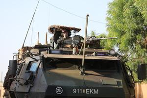 Eesti jalaväerühm Malis.