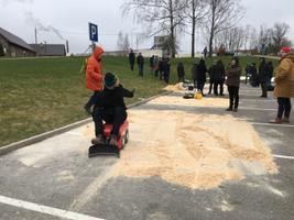Robotlumesahkade leiutamise võistluse finaal Viljandis.