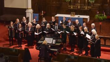 The New York Estonian Mixed Choir in 2017.