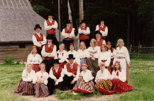 New York's Saare Vikat in Estonia for the XV Dance Festival in 1994.