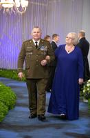 Eesti Memento Liidu juhatuse esimees Arnold Aljaste ja Urve Aljaste