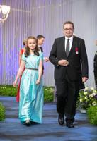 Riigikohtu esimees Villu Kõve ja tütar Helena Kõve