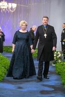 Eesti Evangeelse Luterliku Kiriku peapiiskop Urmas Viilma ja Tallinna Toomkooli direktor Egle Viilma